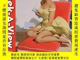 二手書博民逛書店Peek-a-View罕見Pin-up Gallery: Sex