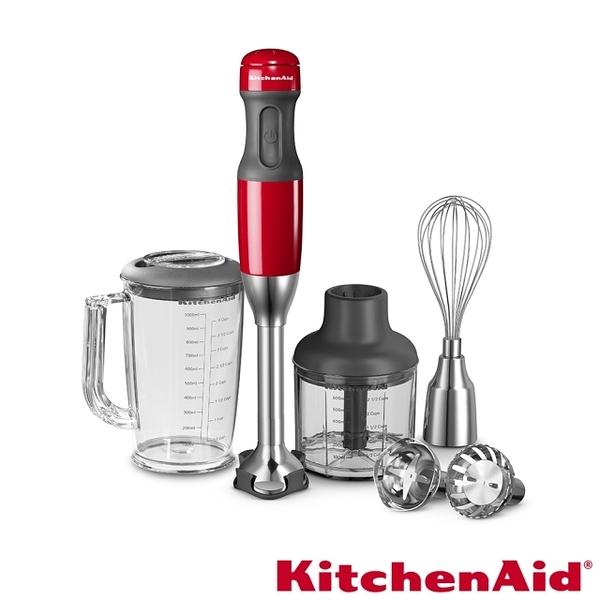 福利品【KitchenAid】手持料理棒專業版(經典紅) KHB2569 KHB2569ER 攪拌棒 攪拌器 攪拌機