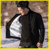 唐裝-棒球服領上衣民族風中式古風漢服外套 MG小象
