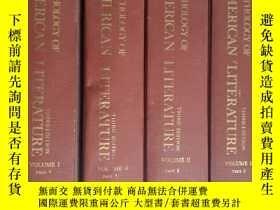 二手書博民逛書店Macmillan罕見《美國文學選讀》 4冊 Anthology of American Literature (