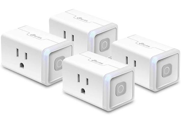 [2美國直購] 4入裝 TP-Link Kasa Smart Plug Mini 智慧插頭 語音控制 B07RCNB2L3