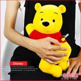 《現貨》迪士尼 小熊維尼 正版 趴趴蜜蜂款 絨毛娃娃 抱枕 30cm 生日禮物 D01119