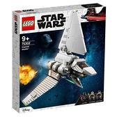 樂高積木LEGO《 LT75302 》STAR WARS™ 星際大戰系列 - Imperial Shuttle™ / JOYBUS玩具百貨