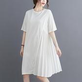 依多多 夏裝高端大碼連身裙 2色(L~XL)