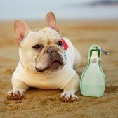 黑五好物節 休普寵物外出水壺便攜式泰迪金毛狗狗外出遛狗旅行水瓶飲水用品 芥末原創