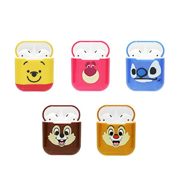 【CAMINO AirPods硬式保護套】Norns 迪士尼正版 iPHONE藍芽耳機充電套 熊抱哥三眼怪史迪奇唐老鴨