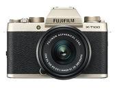 Fujifilm X-T100 Kit 金色〔含 XC 15-45mm 鏡頭〕平行輸入