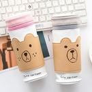 【BlueCat】小熊臉兒咖啡杯套防燙筆...