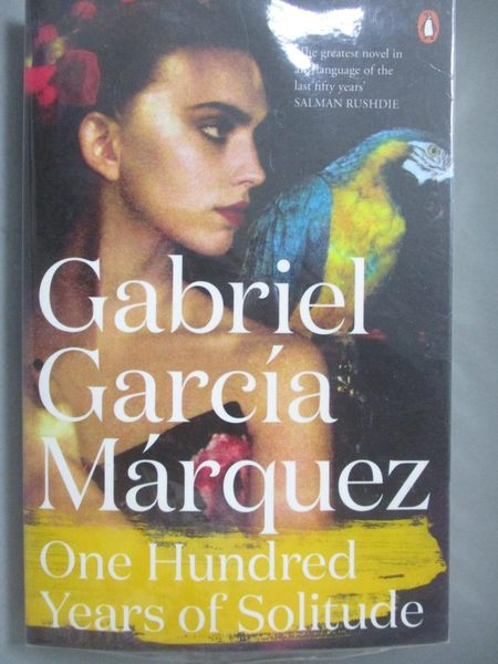 【書寶二手書T8/原文小說_NHQ】One Hundred Years Of Solitude_Gabriel Garc