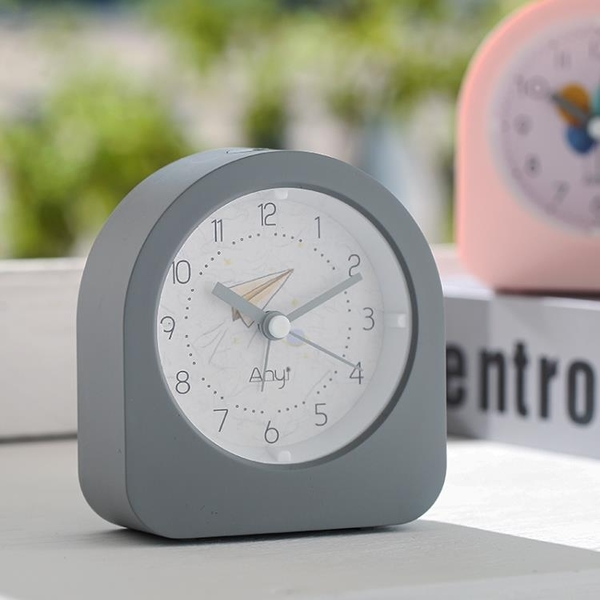 電子鬧鐘 簡約鬧鐘表學生用靜音床頭鬧鈴極簡女北歐風電子鐘夜燈光書桌創意(母親節)