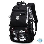 電腦包後背包男潮流背包旅行正韓大容量旅游書包行李袋時尚輕便戶外登山
