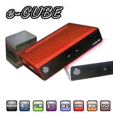 e-CUBE 990 TF6660型 多功能數位錄放影電視盒 台灣製造 加贈數位天線