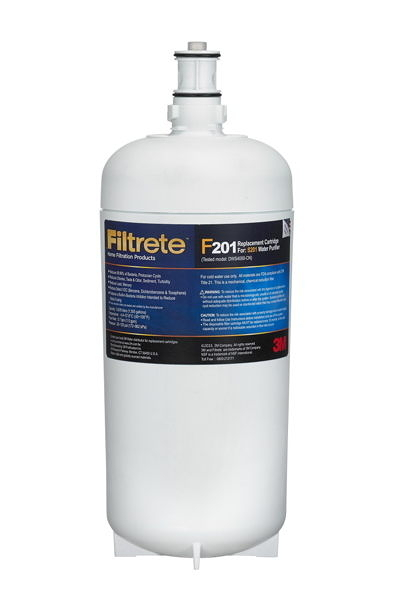 3M S201超微密櫥下型生飲淨水器/濾水器專用濾心3US-F201-5 0.2um超微密活性碳濾心,除鉛、除重金屬