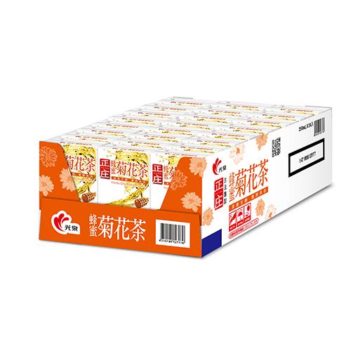 光泉正庄蜂蜜菊花茶250ml*24【愛買】