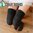 秋冬 純色長筒襪 全棉過膝襪