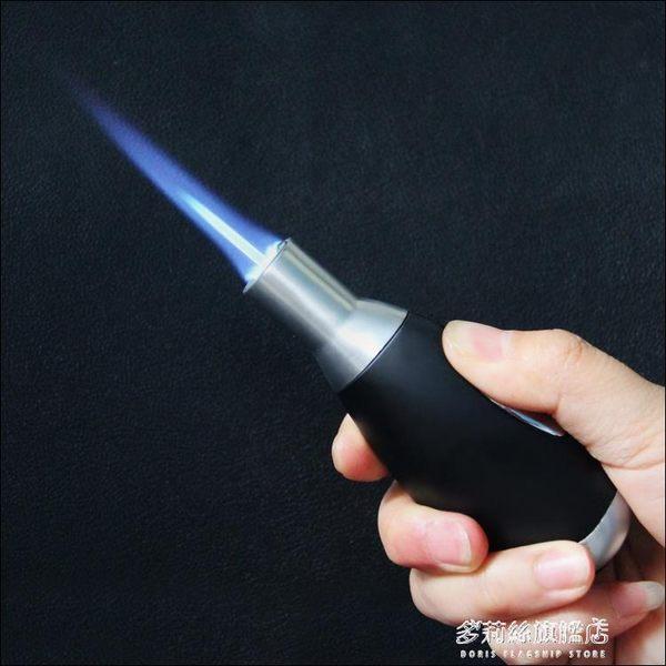 便攜式小焊槍 噴槍高溫創意直沖打火機個性噴火槍戶外燒烤點火器   多莉絲旗艦店