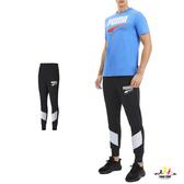 Puma Rebel 男 黑色 長褲 撞色拼接 棉質 運動褲 基本系列 慢跑 健身 休閒 褲子 58274201