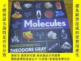 二手書博民逛書店Molecules罕見: The Elements And The Architecture Of Everyth