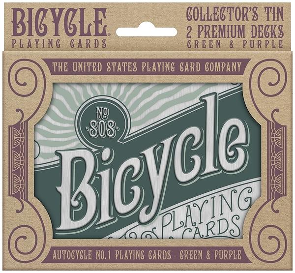 【USPCC撲克】撲克牌 Bicycle Retro Tin Gift Set (1套2幅含收藏盒)