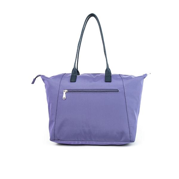 【BESIDE-U】 ENDEAVOR LEATHER系列經典水餃包 - 雲衫紫