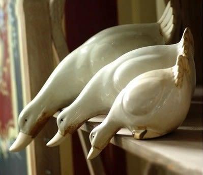 [協貿國際]三鴨陶瓷擺件裝飾品單組價(3隻1組)