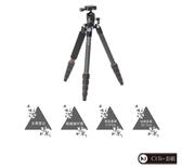 ◎相機專家◎ 送鹿皮拭鏡布 Marsace 瑪瑟士 C15i+ 碳纖維反折三腳架 C15i DT0551T 最新款 公司貨