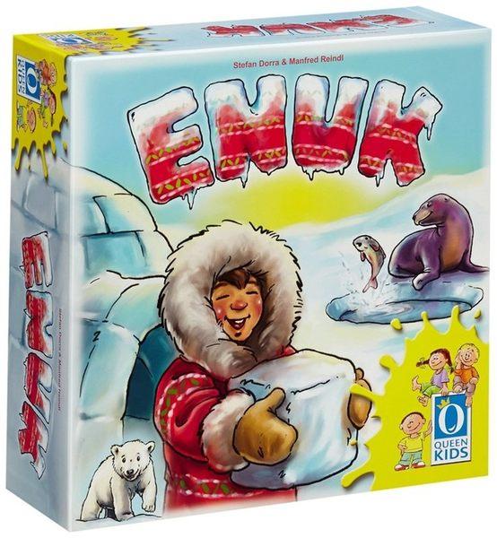 『高雄龐奇桌遊』 愛斯基摩小子 Enuk The Eskimo ★正版桌上遊戲專賣店★