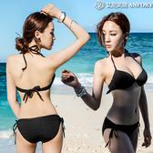 泳衣女三件套分體三點式性感