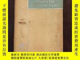 二手書博民逛書店Under罕見the nursery lamp 三側塗金Y198