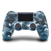 [哈GAME族]限量發售●送類比蘑菇頭●PS4 SONY DUALSHOCK 4 光條觸控版 新款 無線控制器 迷彩藍