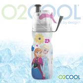 O2 COOL 鯨魚水壺12oz可噴霧 迪士尼版『冰雪奇緣 』登山|戶外|慢跑|路跑|運動|水壺 HMCM12