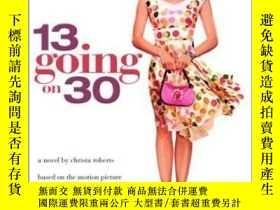 二手書博民逛書店13罕見Going On 30Y256260 Christa Roberts Bantam Books For
