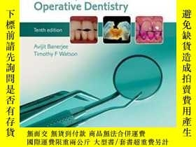二手書博民逛書店Pickard s罕見Guide To Minimally Invasive Operative Dentistr