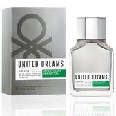 喬雅香水美妝~ Benetton United Dreams 班尼頓 夢想高昂 男性淡香水 100ML