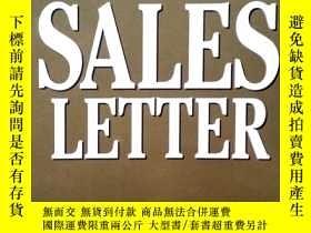 二手書博民逛書店The罕見Ultimate Sales Letter (Engl