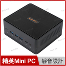 精英 ECS LIVA Z2 Mini PC 迷你桌上型電腦【N5000/4G/64G emmc/文書/intel/桌機/Win10/Buy3c奇展】