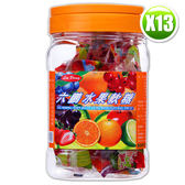 六鵬維他命水果軟糖(100gm±3%)x13