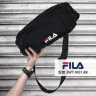 FILA 黑色 腰包 側背包 隨身腰包 單速車 單肩包 腰包 BWT-9031-BK