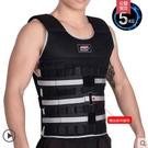 T-負重背心跑步鉛塊鋼板可調節隱形衣沙袋綁腿沙包綁手裝備套裝【主圖款5公斤】