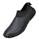 Hellozebra日式男士雨鞋透氣低幫商務舒適女水鞋短筒牛勃朗休閒鞋 設計師生活百貨