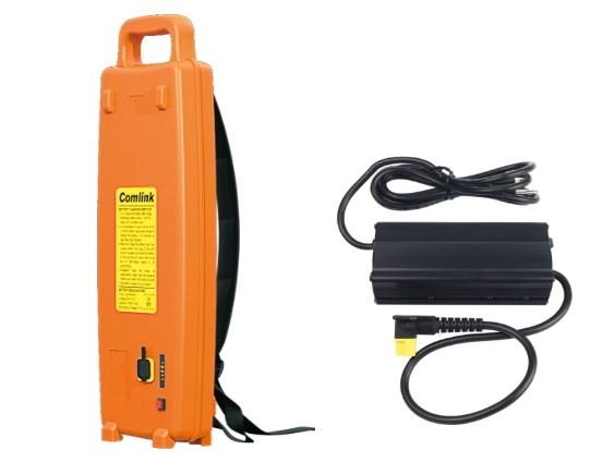 【東林電子台南經銷商】單購-割草機配件鋰離子電池 32.6V-17.4Ah+充電器