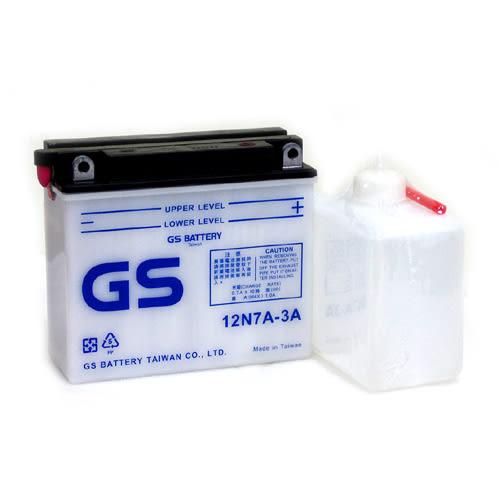 12N7A-3A=YB7BL-A統力GS 野狼機車電池電瓶