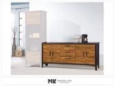 【MK億騰傢俱】ES719-05賽德克積層木雙色6尺餐櫃下座
