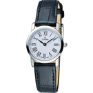 TITONI Slenderline 超薄時尚女用錶 TQ42918S-ST-584 皮帶款