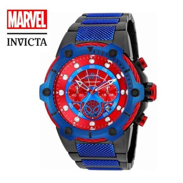 【INVICTA X MARVEL】漫威聯名款 蜘蛛人 雙色男士計時腕錶 51.5 mm