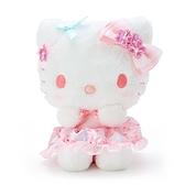 小禮堂 Hello Kitty 沙包絨毛玩偶 沙包娃娃 櫻花玩偶 小型玩偶 布偶 (粉 大和櫻花) 4550337-34903