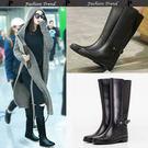 高筒橡膠雨靴 膠鞋水靴 水鞋成人雨鞋 小P V2027