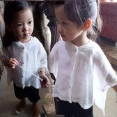 兒童防曬衣女嬰兒夏季超薄韓國純棉透氣寶寶防曬衣超薄透氣韓國潮