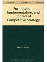 二手書博民逛書店《Formulation, Implementation, and Control of Competitive Strategy》 R2Y ISBN:0072488522