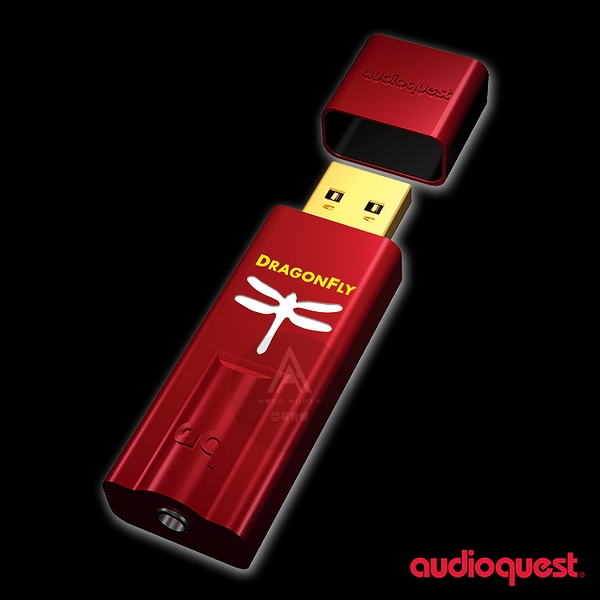 Audioquest DragonFly Red USB DAC 紅蜻蜓 3.5mm 數位類比轉換器 耳擴 數位前級處理